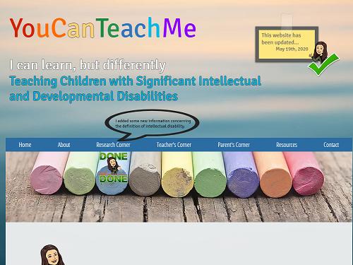 youcanteachme web site image